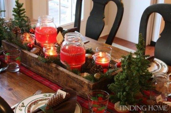 No l christmas centre de table rustique christmas for Table 9a of gstr 1