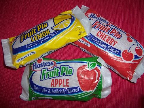 Hostess fruit pies