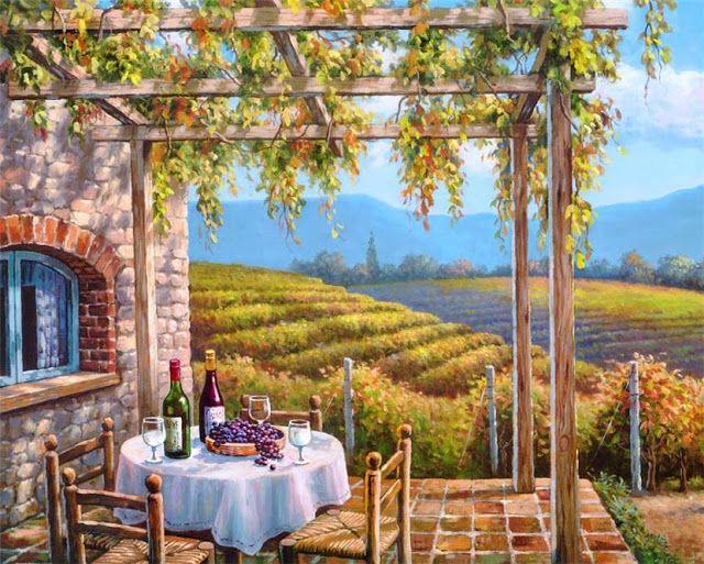 Vineyard Terrace ~ Sung Kim