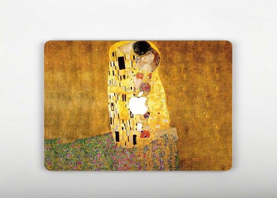 The Kiss Macbook Air 11 Skin Klimt Macbook Pro Retina 15 Skin Painting Macbook Pro 13 Decal Art Macbook 12 Inch Vinyl Sticker Gift RS3264