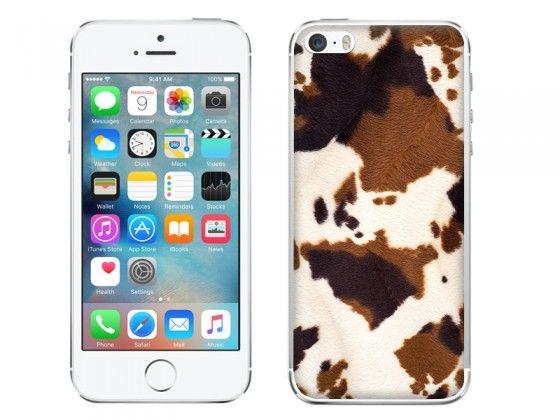 Brązowa łaciata krowa <3 Realistyczny wzór na etui do telefonu  #case #etuo #cow #brown #fur #skin #animal #pattern