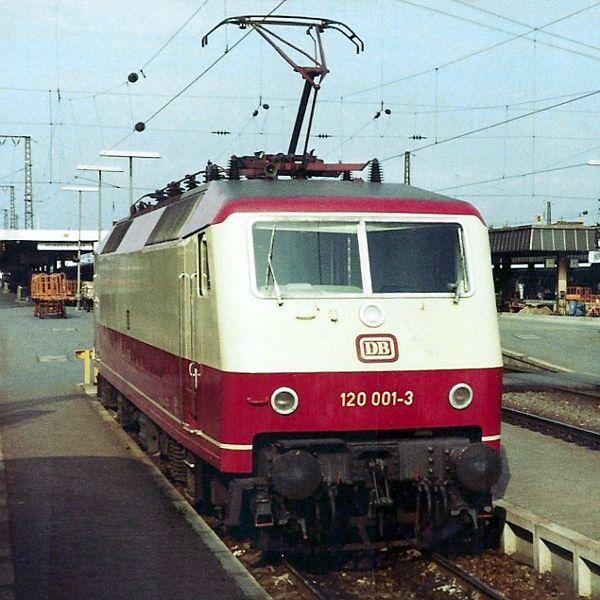 Deutsche Bundesbahn - 120 001