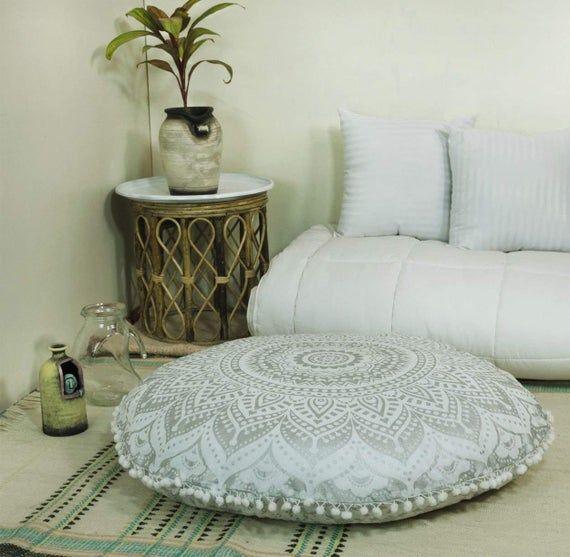 Meditation Seating Floor Cushion Insert Floor Pillow Ottoman Etsy Floor Pillows Diy Floor Pillows Floor Cushions