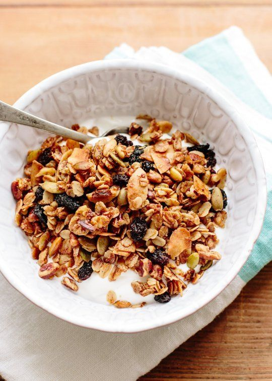 Recipe: Cambria's Granola with Pecans, Cherries & Coconut — Breakfast Recipes from The Kitchn