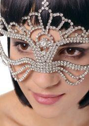 Maska delux z kryształków
