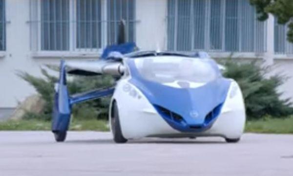 AeroMobil 3.0 en vídeo será el coche volador del futuro?  Noticias Vehículos aviones coche futuro tecnología