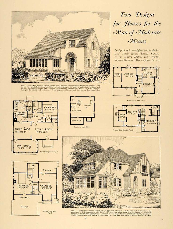 242 best 1890-1960 Tudor Revival images on Pinterest ...