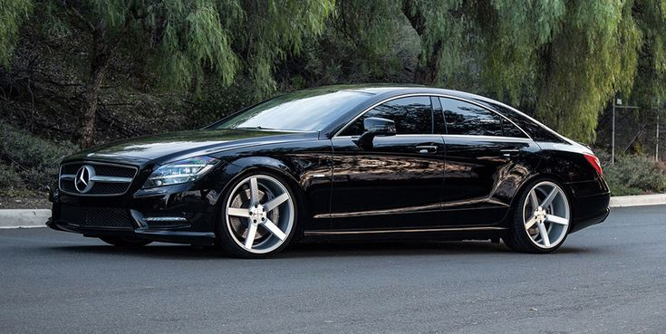 Merc cls c218 with custom wheels cars pinterest for Custom mercedes benz for sale