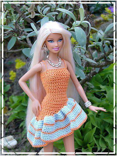 Dress-knit but crochet straps-convertable