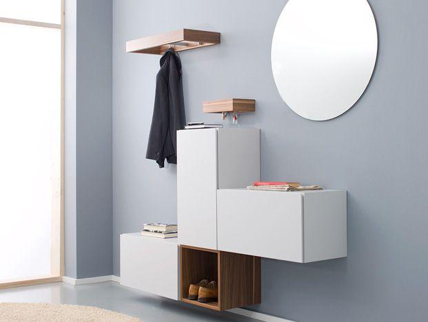 Kriegerhome sortiment garderobe moderne dielen for for Moderne garderobe