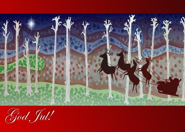 sold a greeting card of Swedish Christmas Card to a buyer from Hopewell Junction, NY - United States. #greetingcards #christmascards #swedish #santaclaus #jinglebells #godjul #jul #art #festive #julhälsningar #finland #sweden #nordic #scandinavia