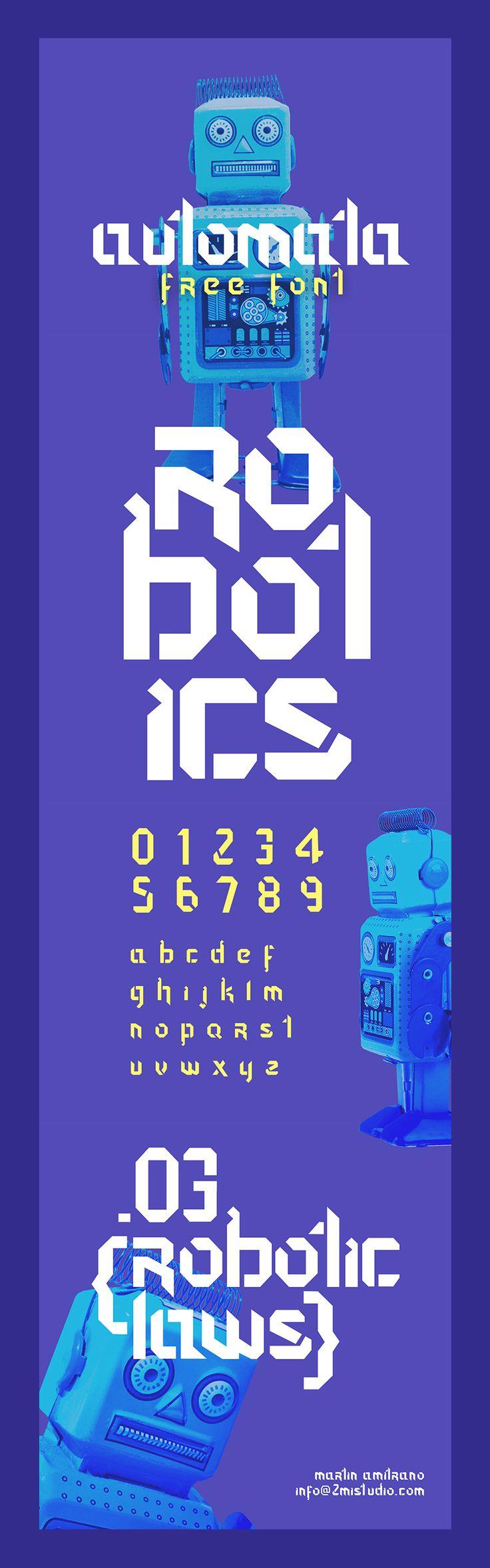 Automata Display Free Typeface - Free Design Resources