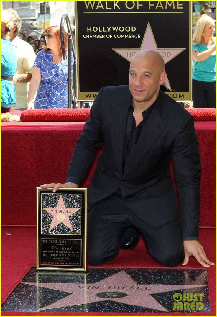 Vin Diesel: Star on the Hollywood Walk of Fame