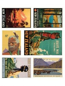NZ Posters Magnet Set | Design Withdrawals