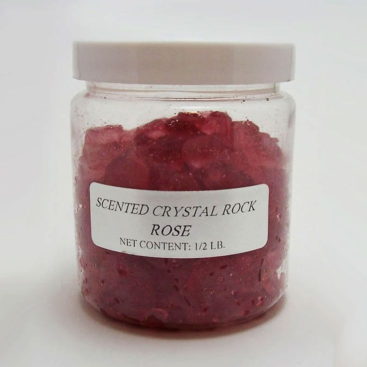 Rose Scented Crystal Rock Potpourri - SCRP372 - Rose Scented Crystal Rock Potpourri 1/2 Lb. Jar. Fill an open container or place in sachets. Can also be used with our electric and candle based fragrance warmers and combos. FOR SALE