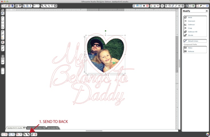 Silhouette Blog - Inserting a Photo Into a Shape