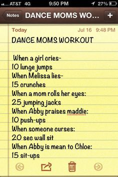 dance moms workout game - Google Search