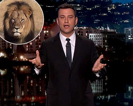 Jimmy Kimmel Gets Choked Up About Cecil the Lion: Video - Us Weekly