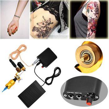 HAICAR hot sale Tattoo Professional 1 Set Completed Exquisite Workmanship Tattoo Kit Equipment Tattoo Machine X# 1207 fastship  Price: 0.70 USD