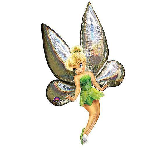 """Large 18/"""" Happy Birthday Disney Fairies Balloon Party Supplies Children Girls"""