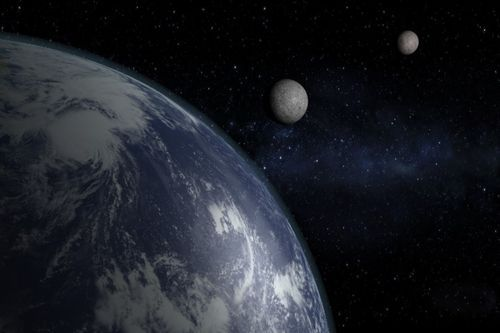 """""""Earth's Lost Moon"""" --NASA's Grail Mission May Reveal a Long-Vanished Companion"""