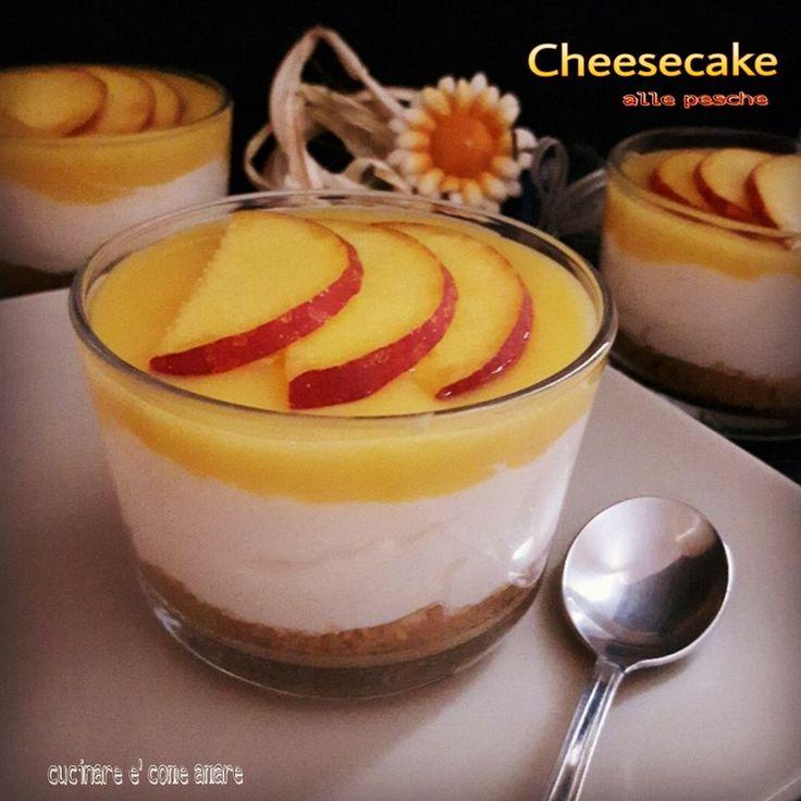 cheesecake al cucchiaio,una variante del classico cheesecake,semplicissimo da realizzare e di grande effetto. Cucinare è come amare