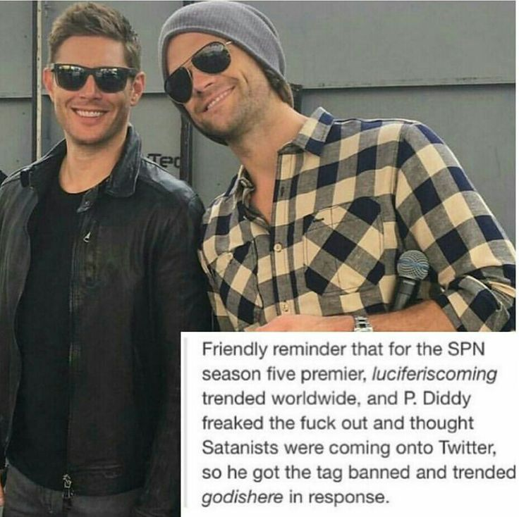 This, right here, is the spn fandom