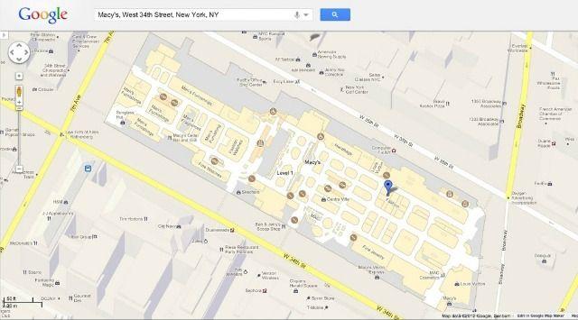 Google Maps Adds Indoor Floor Plans coming soon for Fullerton Public Library!
