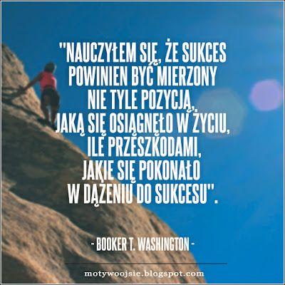 """MotywoojSię: """"Nauczyłem się, że sukces...""""  #sukces #nauka #zycie #problem…"""