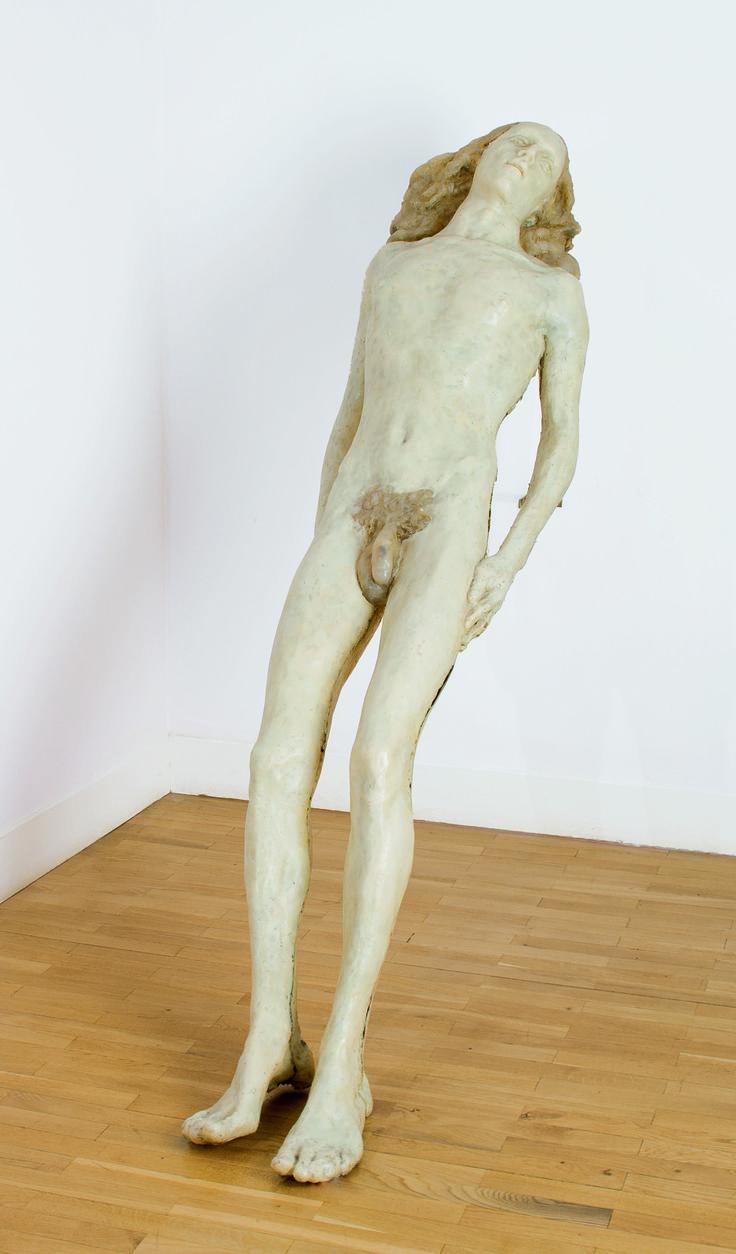 Alina Szapocznikow, Piotr, 1972. Polyester resin.