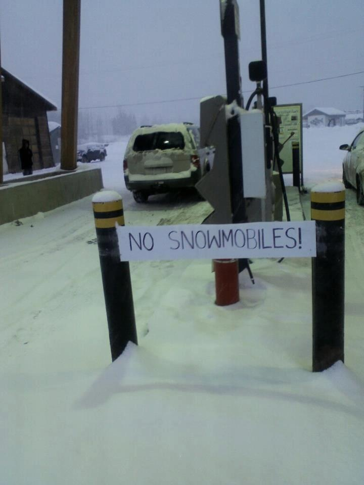.....only in Canada, eh?