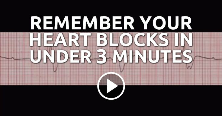 Heart blocks can be a very difficult subject to memorize. You have sat there for hours trying to memorize heart blocks and now you find it hard to believe you can just memorize this in three minutes.