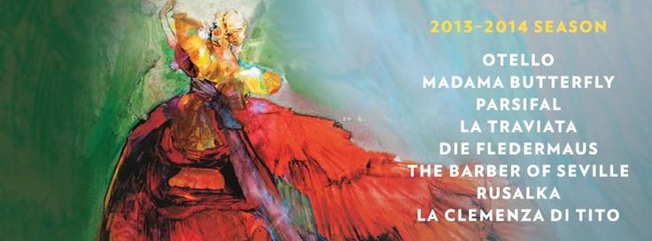 Lyric Opera of Chicago's 2013/14 season.