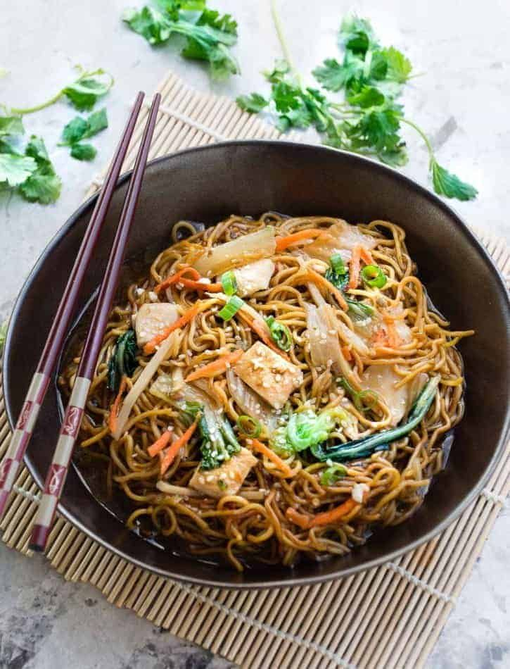 Authentic Perfect Easy Chinese Chicken Chow Mein Recipe Only 30