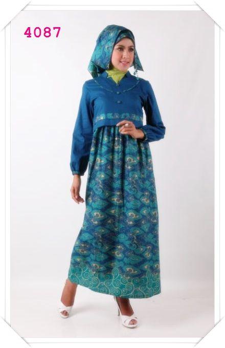 Gamis ethnic dengan desain yang cantik dan unik cocok banget buat kamu sista ^_^