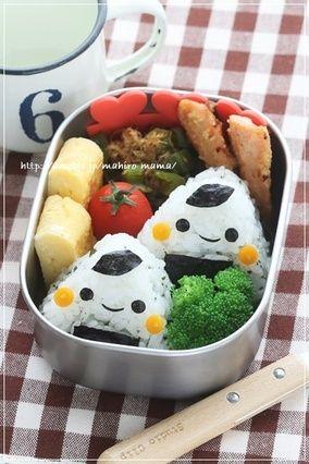 わかめおにぎりくんのお弁当|レシピブログ