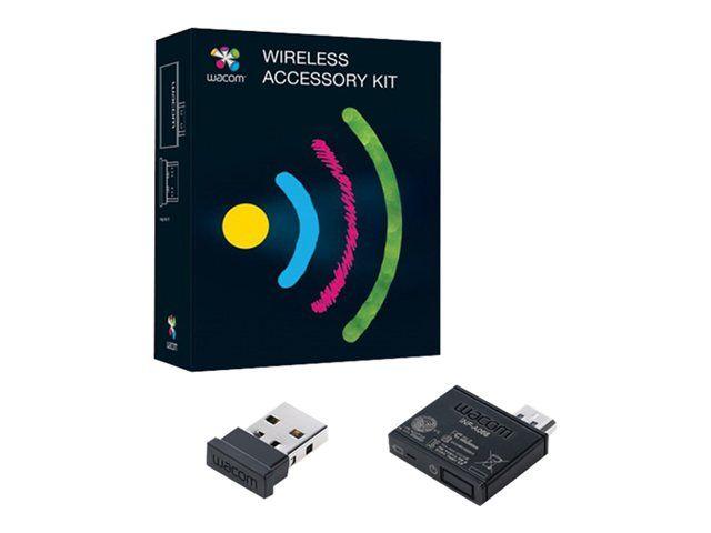 Kit Accesorio Wireless Wacom $125.000 Características  Diseñado para Intuos5, Bamboo Capture y cree tabletas de lápiz Bamboo, el kit de accesorios inalámbrico le permite conectar la tableta al ordenador sin necesidad de cables.
