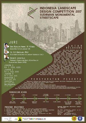 #Lomba #Desain #Lanskap #ILDC #LandscapeDesign #IPB #Bogor ILDC Indonesia Landscape Design Competition 2017 Kompetisi Desain Lanskap  DEADLINE: 1 September 2017  http://infosayembara.com/info-lomba.php?judul=ildc-indonesia-landscape-design-competition-2017-kompetisi-desain-lanskap
