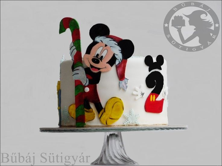 mickey mouse cake, Mickey mouse, birthday cake, Mickey mouse, fondant cake, hand painted cake. follow me: https://www.facebook.com/BubajSutigyar/