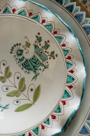 Ceramic, pottery, Sardinia, Sardegna http://www.luxuryholidaysinsardinia.com/Blog/dettaglio/lifestyle-outdoor-un-mondo-di-opportunita-per-vivere-la-sardegna