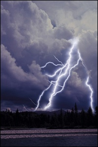 """Prepare for Unpredictable Spring Weather """"Prepare for storms, floods, and tornadoes as if you know in advance they are coming, because in the spring, they very likely will."""" - MilitaryAvenue.com"""