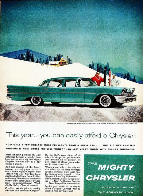 1958 Chrysler Windsor 4-Door Sedan   Flickr - Photo Sharing!