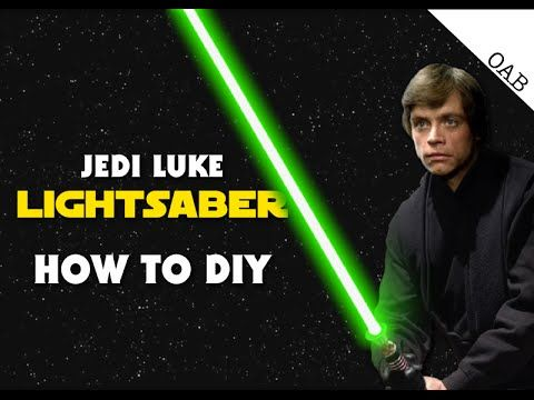 Luke's Lightsaber (Return of the Jedi) On A Budget - How To DIY - YouTube