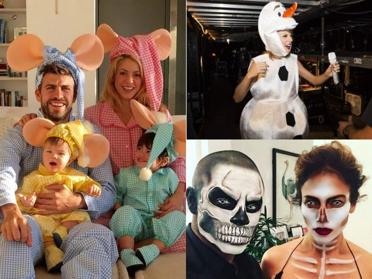 Los famosos usaron sus mejores disfraces en este Halloween 2015.: