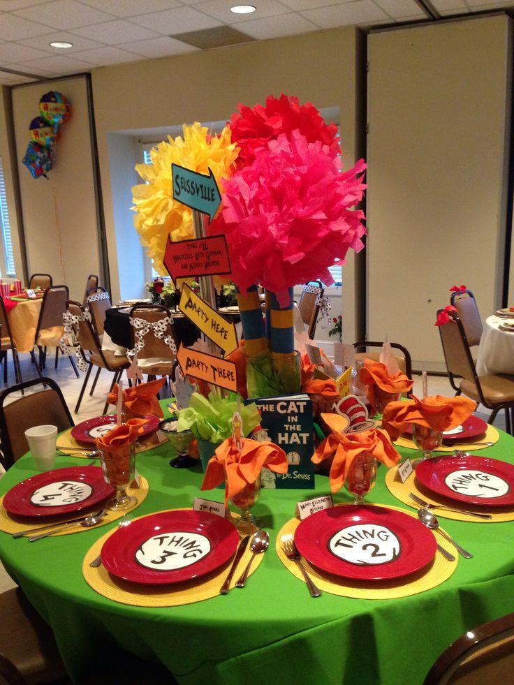 Dr Seuss 2014 Parade Of Tables Spiritual Birthday