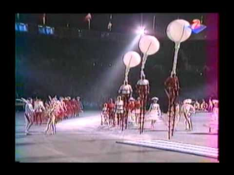 """Cérémonie d'Ouverture des XVIe Jeux Olympiques d'Hiver d'Albertville 1992 Extrait """"La Parade"""""""