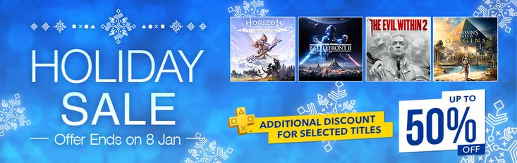 Holiday Sale | Official PlayStationStore Hong Kong (Region 3) #Playstation4 #PS4 #Sony #videogames #playstation #gamer #games #gaming