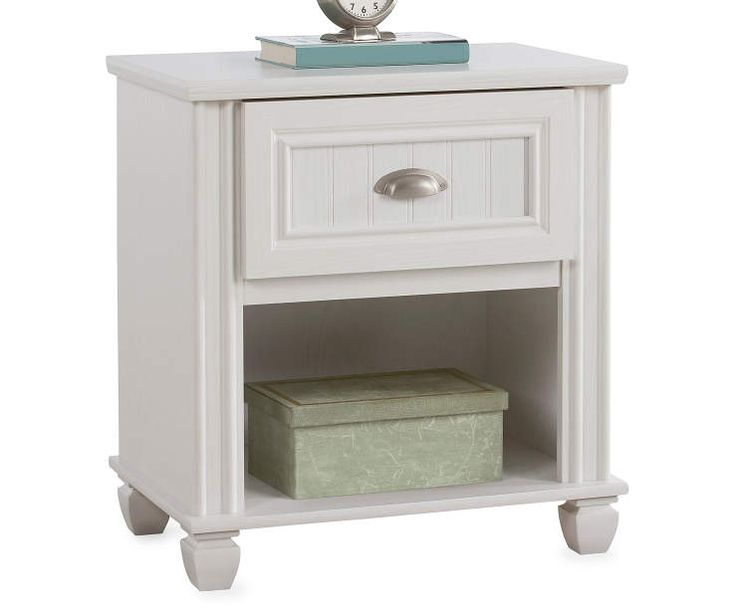Federal White Nightstand At Big Lots.