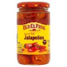 Old El Paso Red Jalapenos 215g