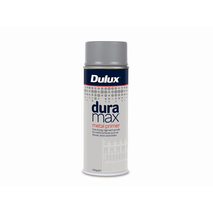$11.45  Dulux Duramax 340g Metal Primer Spray Paint